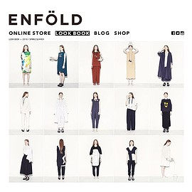ENFOLD - up to date >> ENFÖLD OFFICIAL#enfold_official #enfold #2016ss