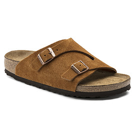 BIRKENSTOCK - Zurich Soft Footbed Suede Leather mink