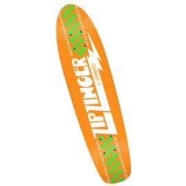 Krooked -  Zip Zinger Orange Deck