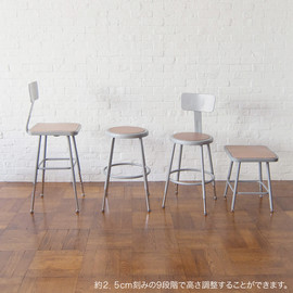 PACIFIC FURNITURE SERVICE - LAB STOOL