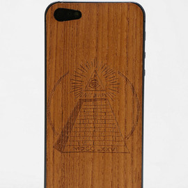 Piel Wooden iPhone 5/5s Back-Skin