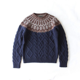 SASQUATCHfabrix. - NORDIC FISHERMAN KNIT