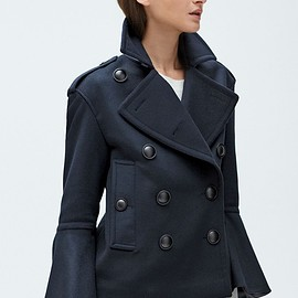 Burberry - Burberry Juliette Townhill Double Breasted Peacoat