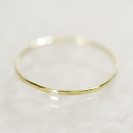 Melissa Joy Manning - Gold Stacking Ring (Green Gold)