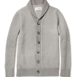 Maison Martin Margiela - Ribbed Wool Cardigan