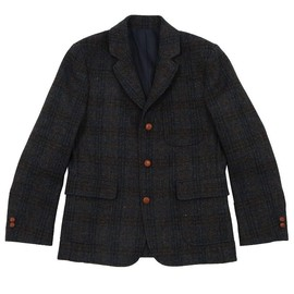 Maison Kitsuné - Tweed Cycling Jacket Blue
