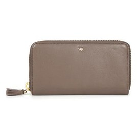 ANYA HINDMARCH - Large zip round wallet