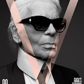 V Magazine, KARL LAGERFELD - V99 GAGA'S FASHION GUARD: KARL LAGERFELD