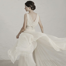 matilda wedding dress back view