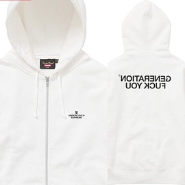Supreme - 1617AW!! Supreme/Undercover Generation Fuck You Zip Up Sweat