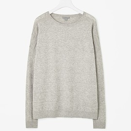 COS - Embossed stripe jumper