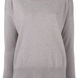 Cruciani - boat neck jumper