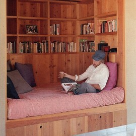 A fantastic wee sleeping / reading nook