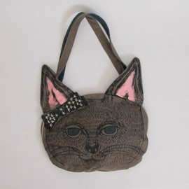 benjamintyo - benjamin cat face bag