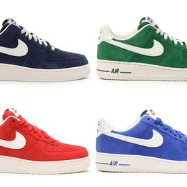 Nike - NIKE AIR FORCE 1 LOW (SUEDE PACK)