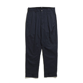 ENGINEERED GARMENTS - Andover Pant-High Count Twill-Dk.Navy
