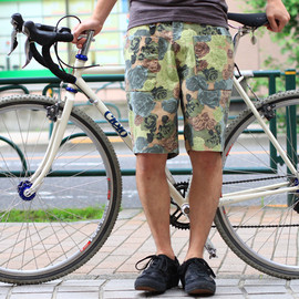 VOO - cotton shorts (flower camo)