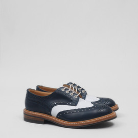 Trickers - Trickers for Present Classic Derby Navy White