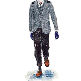 JUNYA WATANABE COMME des GARCONS - He Wears It 2 by John Woo