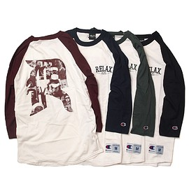 "RELAX ORIGINAL® - ""R"" Raglan[Champion Body]"