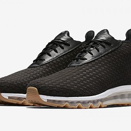 NIKE - Air Max Woven Boot - Black/White/Gum Light Brown