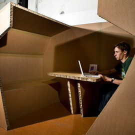 Paul Coudamy - Cardboard Office