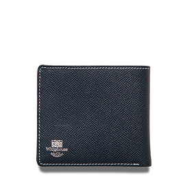 Whitehouse Cox - ホワイトハウスコックス | S8772 NOTE CASE / LONDONCALF × BRIDLE(NAVY/RED)