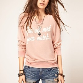 WILDFOX - Wildfox You've Met Your Match Jumper