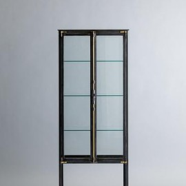 complex - FRENCH MEDICAL GLASS CABINET
