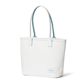 "HEAD PORTER - ""CAPRI"" TOTE BAG (S) WHITE"