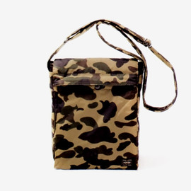 A BATHING APE - A BATHING APE X PORTER 1st CAMO SHOULDER BAG