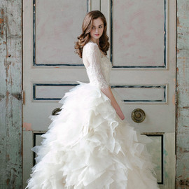 sareh nouri - wedding dress