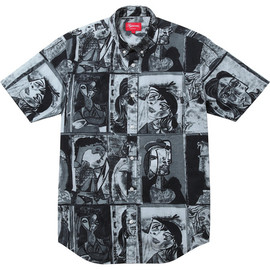 Supreme - Cubist Shirt - Black
