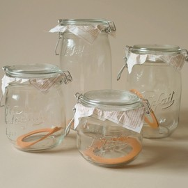 Le Parfait - glass canning jars