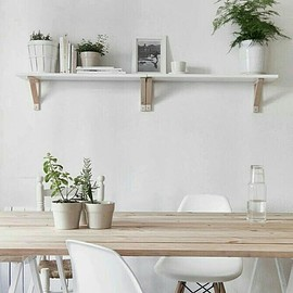 Wood Table - Wood Table Shelf Decor