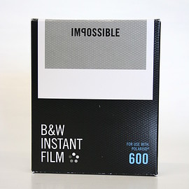 IMPOSSIBLE - B&W FILM FOR 600 Cameras