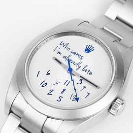 Mad Paris X colette - 'Who Cares Edition' Watch MAD PARIS X COLETTE 'Who Cares Edition' Watch