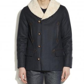 A.P.C. - STORM COAT IN SCOTTISH WOOL