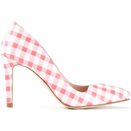CARVEN - checked stiletto pumps