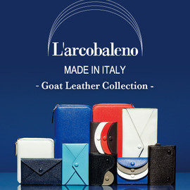 International Gallery BEAMS - L'arcobaleno -Goat Leather Collection-