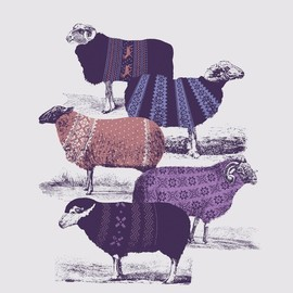 Cool Sweaters Art Print by Jacques Maes