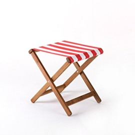 deckchairstripes - event stool / stripe