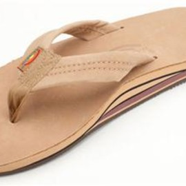 Rainbow Sandals - Double Layer Premier Leather with Arch Support