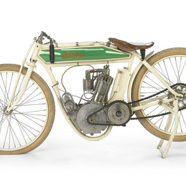 Indian - Model F - a 'broad track' racing bike