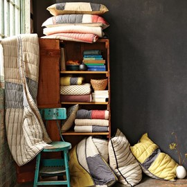 west elm - Cottage Quilt + Shams