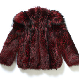 G.V.G.V - Fox Fur Half Coat