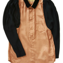 TOGA - Velvet Shirt (brown)