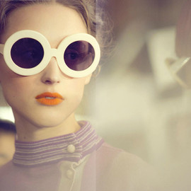 Tsumori Chisato - Rounded glasses/ fw 2011 collection