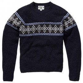 Gant Rugger - The Mb Nordic Stripe Crew