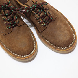 Hathorn for Nepenthes - Work Boots Oxford Rough Out Tan